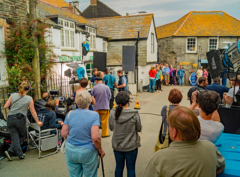 Filming Doc Martin